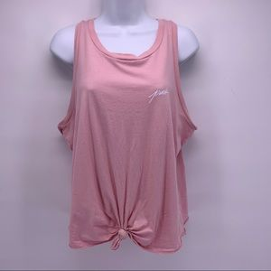 PINK by VS Pink Logo Tank Top Size Large